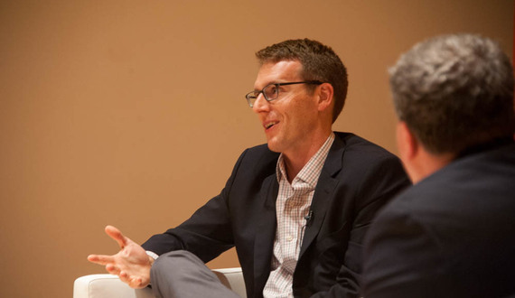 Pulitzer Prize winner David Fahrenthold discusses election coverage of Trump at Syracuse University